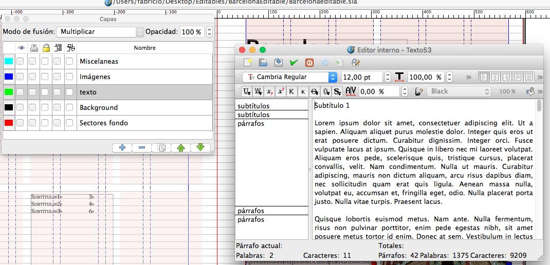 Editar Texto